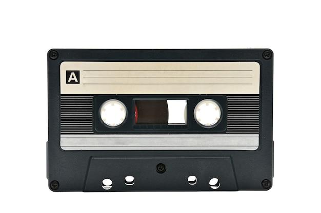 Compacte audiocassette voor gebruik op audiobandrecorders, muziekspelers en cassettedecks