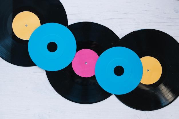 Compacteert schijven en samenstelling van vinylplaten