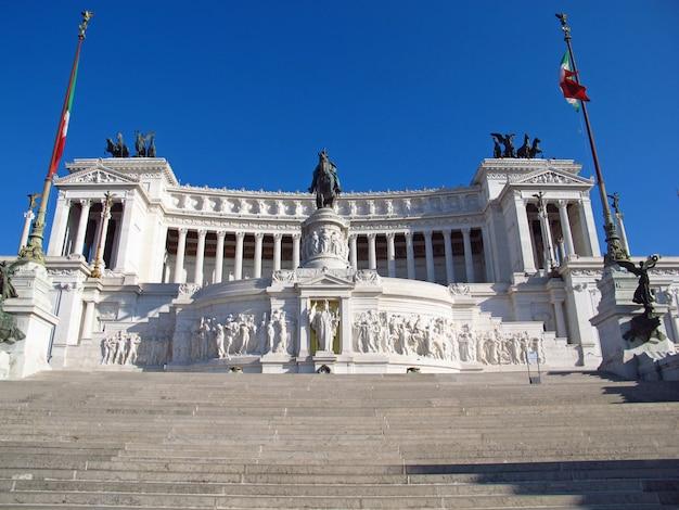 Complesso del vittoriano in rome, italië