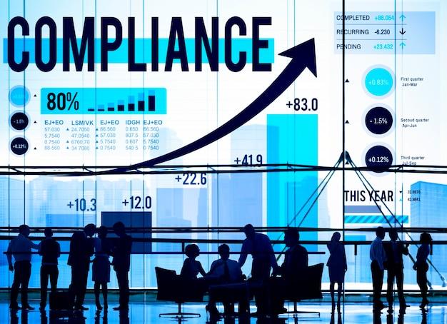 Compliance regels law follow regulation concept