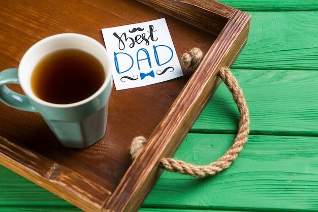 Compositie voor vaders dag