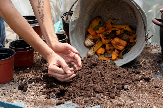 Compost stilleven concept