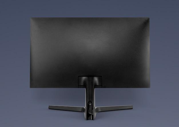 Computer achteraanzicht digitaal apparaat