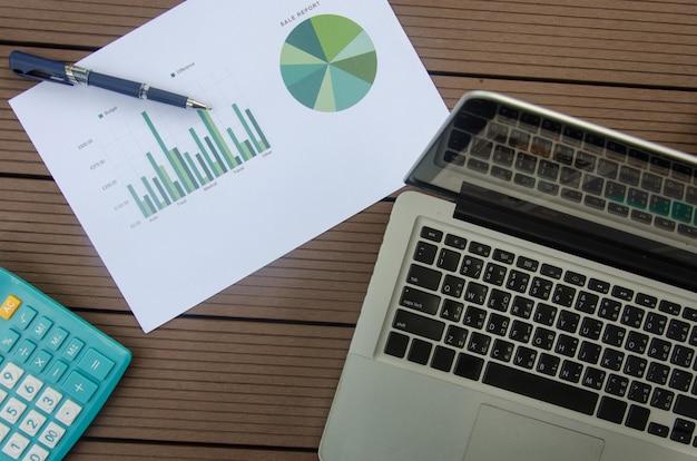 Computer en grafiek