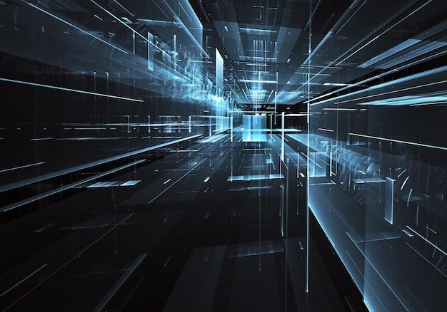 Computer gegenereerde abstracte achtergrond