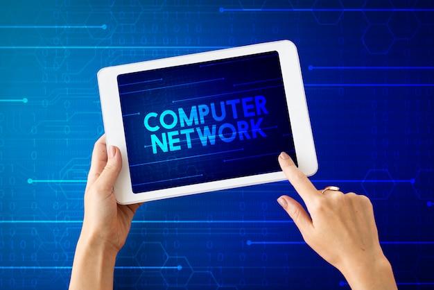 Computernetwerk datacenterinformatie