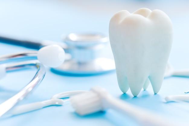 Concept afbeelding van tandheelkundige