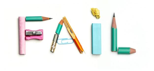 Concept idee met kleurrijke verfrommeld papier