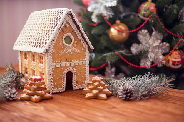 Concept kerstmis en nieuwjaar