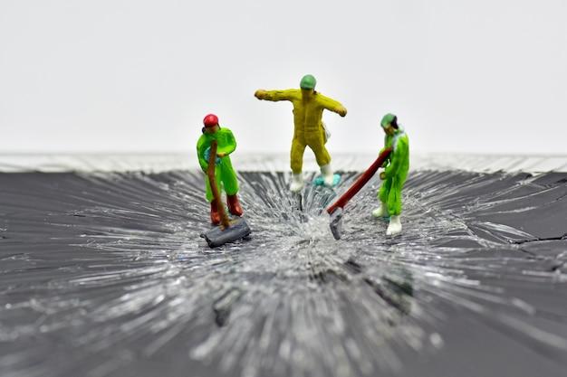Concept, reparatie team
