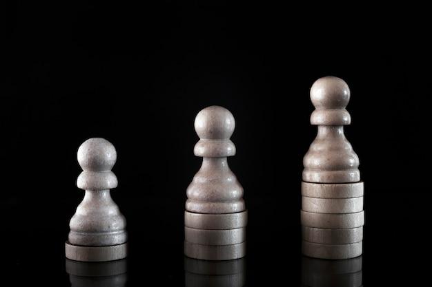 Concept van bedrijfsontwikkeling, carrièregroei, succes, motiverende concept.