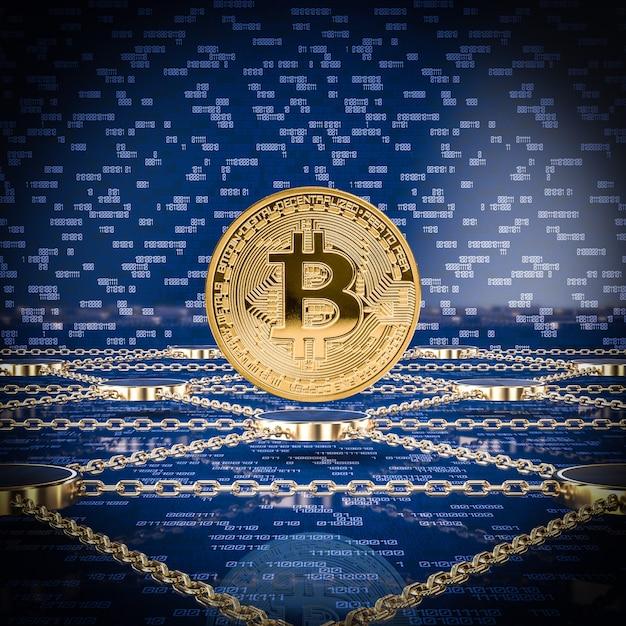 Concept van blockchain