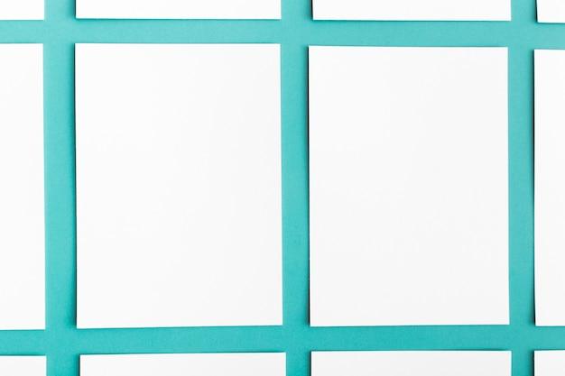 Concept van close-up het lege adreskaartjes
