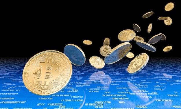 Concept van cryptocurrency