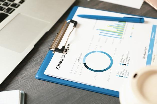 Concept van financiële planning