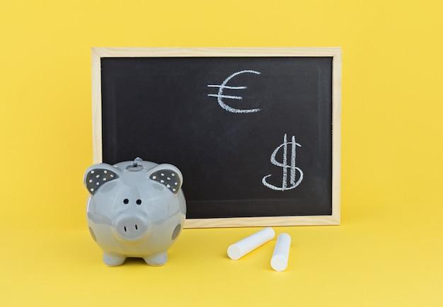Concept van het bestuderen van wisselkoersstatistieken