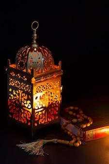 Concept van het close-up het islamitische nieuwe jaar