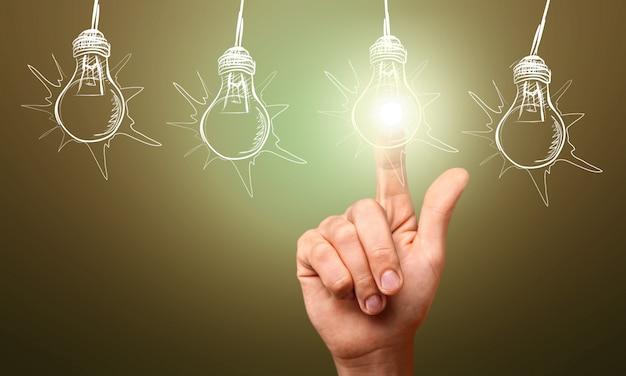 Concept van idee en innovatie