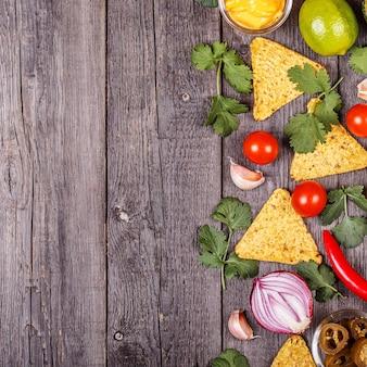 Concept van mexicaans eten
