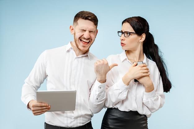 Concept van partnerschap in zaken