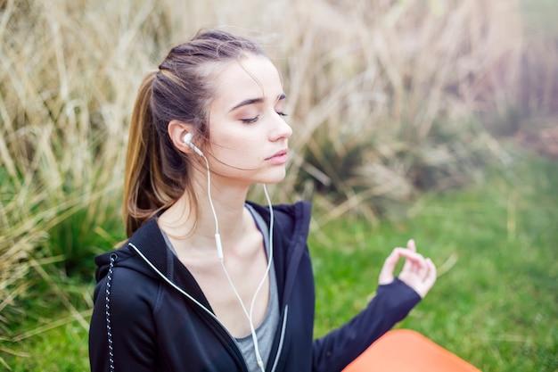 Concept van rust en meditatie