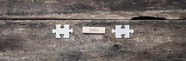 Conceptueel beeld van innovatie en idee