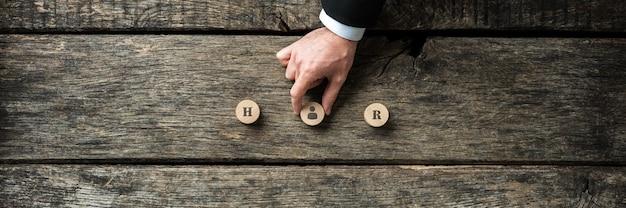 Conceptueel beeld van werkgelegenheid en human resources