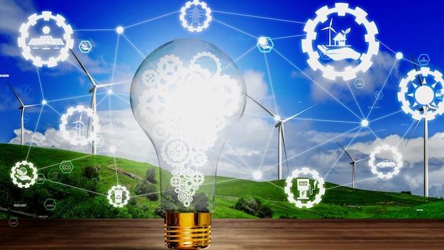 Conceptueel milieubehoud en duurzame esg-ontwikkeling