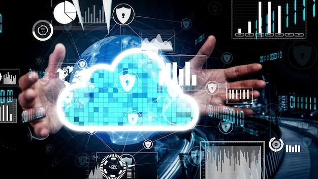Conceptuele cloudcomputing- en dataopslagtechnologie voor toekomstige innovatie