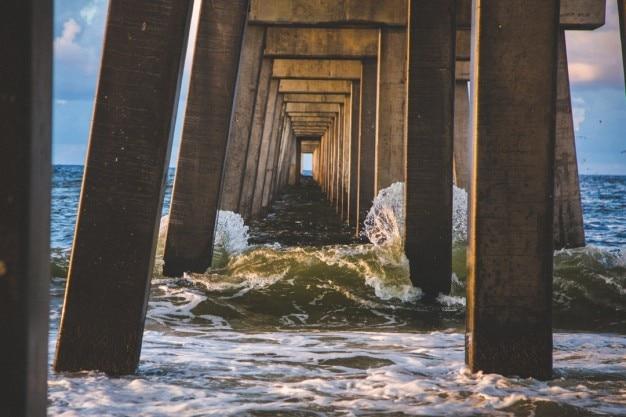 Concrete dock structuur