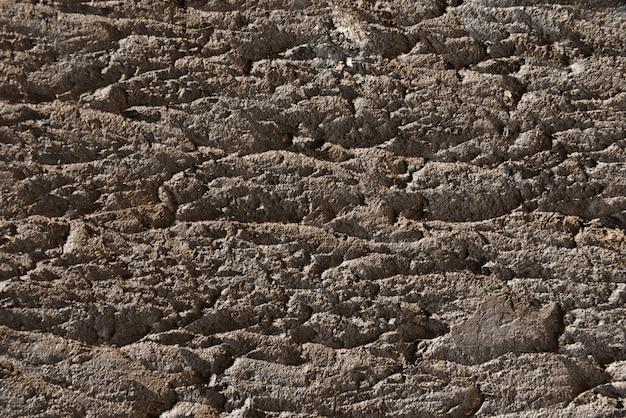 Concrete muurtextuur als achtergrond met exemplaarruimte