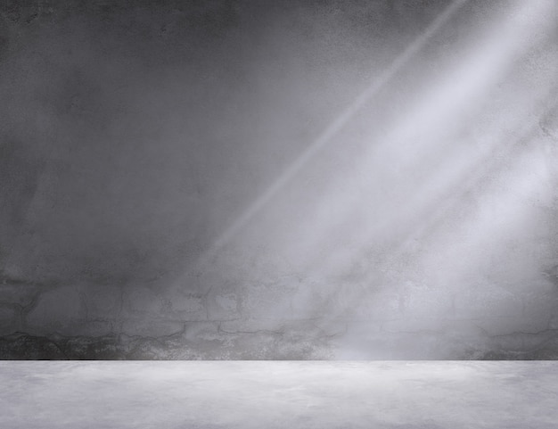 Concrete room corner shadow sunlight wallpaper concept