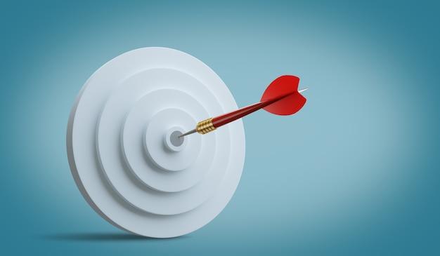 Concurrentievoordeel, strategisch concept. 3d-afbeelding