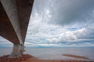 Confederation bridge hdr canadian