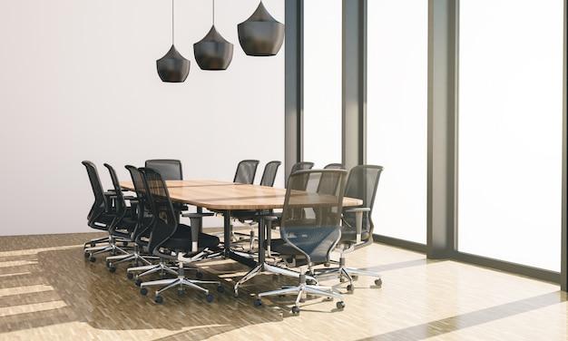 Conferentiezaal met niemand