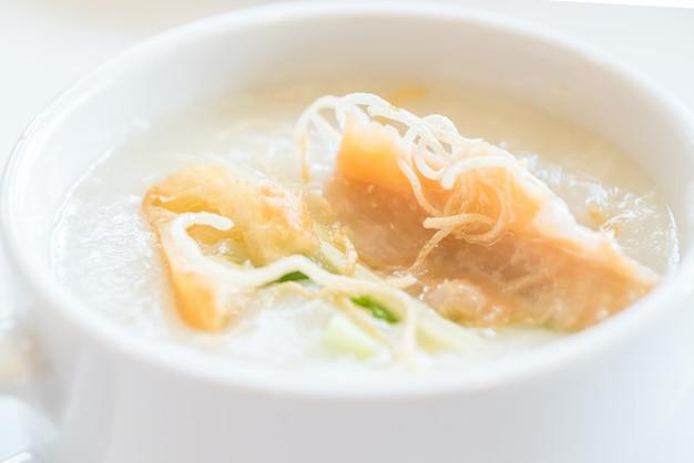 Congee rijstpap