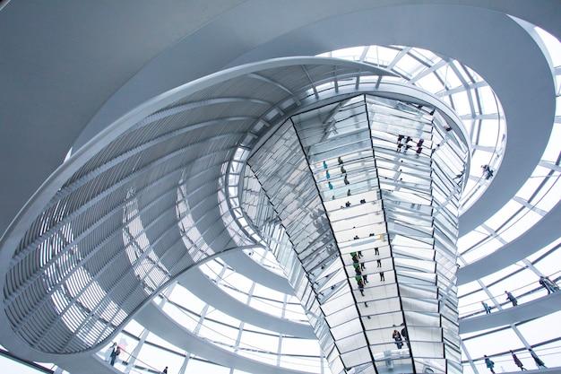 Congres van berlijn dat driedimensionale architectuur bouwt