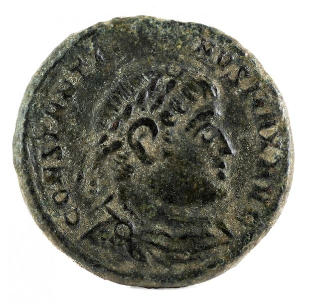 Constantijn i magnus romeinse munt