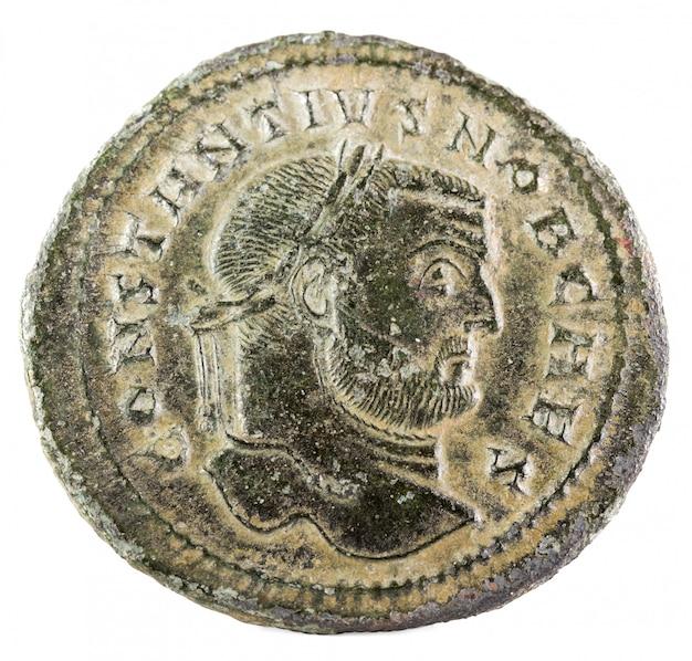 Constantius chlorus romeinse munt