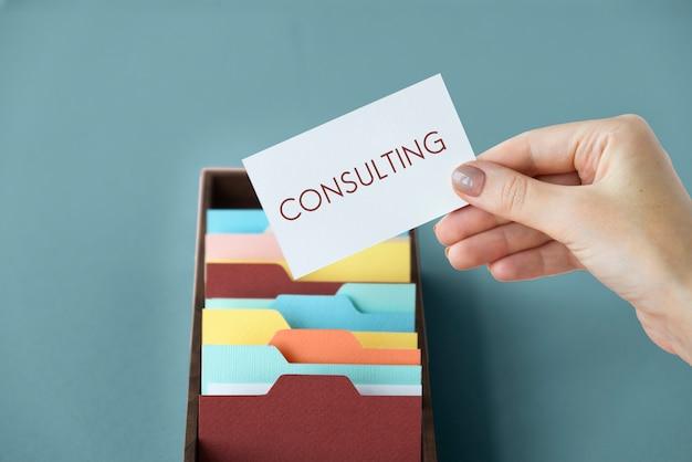 Consulting professioneel expert service bedrijf