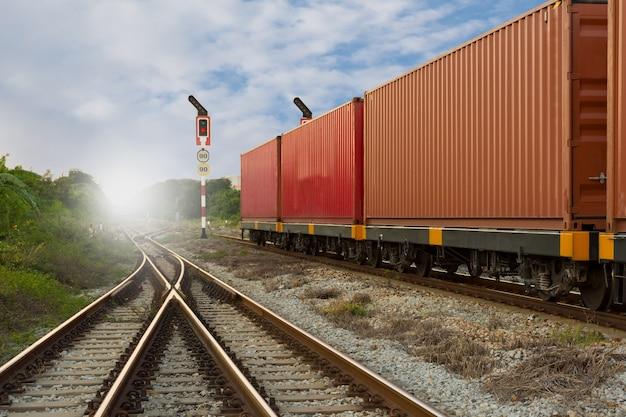 Containerlaadtank voor import en export