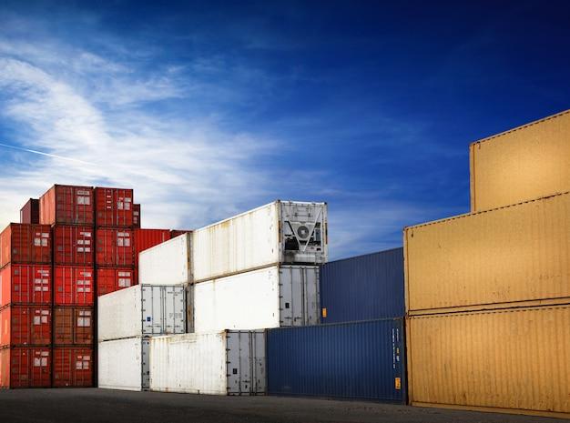 Containers voor vrachtvervoer