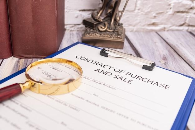 Contractvorm voor de verkoop van roerende goederen
