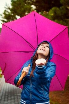 Controleren op regen