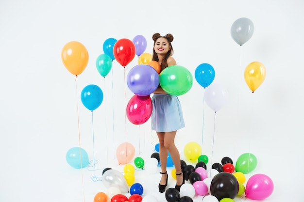 Cool discofeest. dico glam. stijlvolle zomer hipster-outfit
