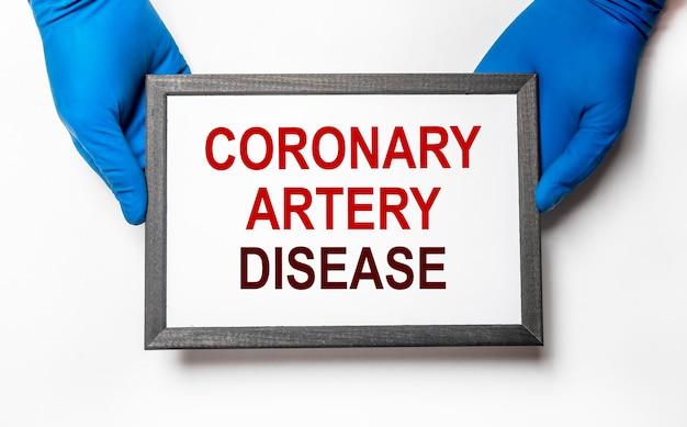 Coronaire hartziekte. gezondheid en zorg voor het hart.