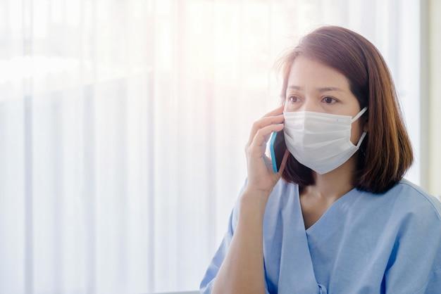 Coronavirus-patiënten bellen