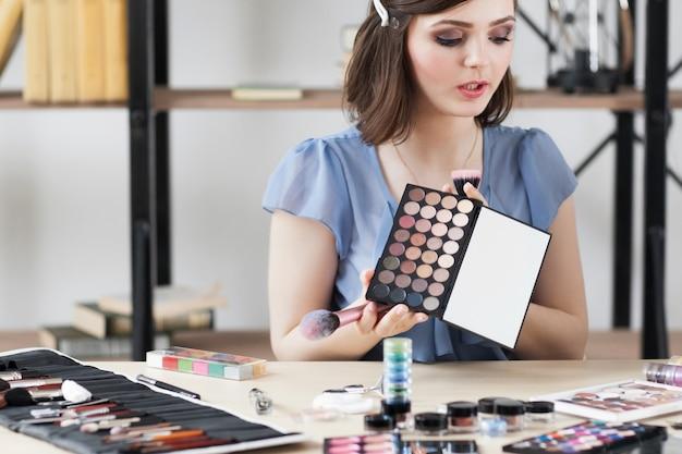 Cosmetica-consult vertelt over oogschaduwpalet