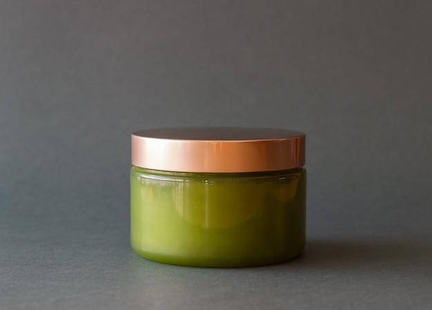 Cosmetica groen. natuurlijke cosmetica. huidsverzorging.