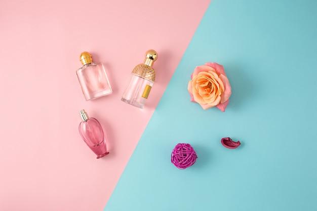 Cosmetica op moderne kleurrijke